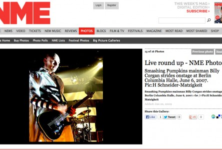 NME – SMASHING PUMPKINS